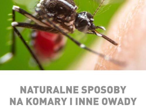 Naturalne sposoby na komary i inne owady